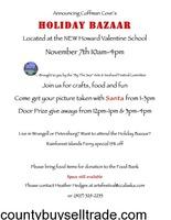 Coffman Cove Holiday Bazaar