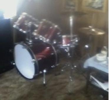 Gretch Nighthawk 9 piece Drum Set