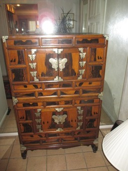 Asian Chest and Chair