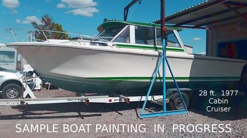 Painting & Detailing for Boat Car RV JetSki Trailers