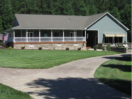 New Kent Pristine Ranch on 16.75 acres with Custom home and 5,000 sf Garage - Bunkhouse