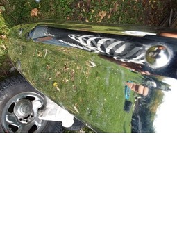 Chrome  Dodge Dakota truck bumper
